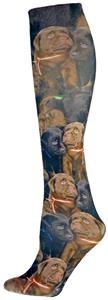 Nouvella Labrador Retriever Sublimate Trouser Sock