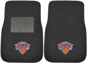 Fan Mats NBA NY Knicks Embroidered Car Mats (set)