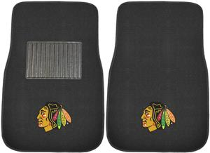 Fan Mats NHL Blackhawks Embroidered Car Mats (set)