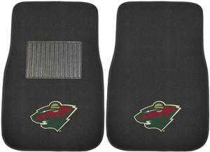 Fan Mats NHL Wild Embroidered Car Mats (set)