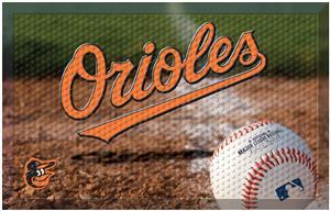 Fan Mats MLB Orioles Scraper Ball or Camo Mats