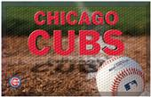 Fan Mats MLB Cubs Scraper Ball or Camo Mats