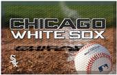 Fan Mats MLB White Sox Scraper Ball or Camo Mats