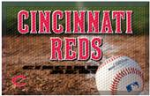 Fan Mats MLB Reds Scraper Ball or Camo Mats