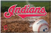 Fan Mats MLB Indians Scraper Ball or Camo Mats