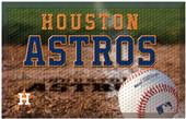 Fan Mats MLB Astros Scraper Ball or Camo Mats
