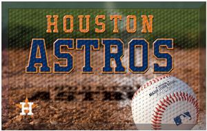 Fan Mats MLB Astros Scraper Ball or Camo Mats