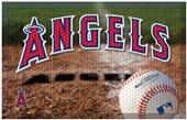 Fan Mats MLB Angels Scraper Ball or Camo Mats