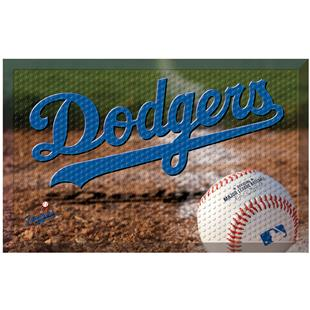 Fan Mats MLB Dodgers Scraper Ball or Camo Mats