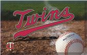 Fan Mats MLB Twins Scraper Ball or Camo Mats