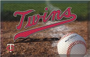 Fan Mats MLB Twins Scraper Ball or Camo Mats