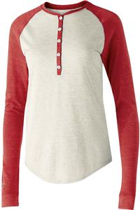 Holloway Ladies Vintage Heather Alum Shirt