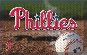 Fan Mats MLB Phillies Scraper Ball or Camo Mats