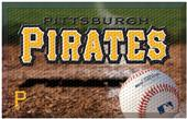 Fan Mats MLB Pirates Scraper Ball or Camo Mats