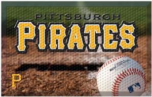 Fan Mats MLB Pirates Scraper Ball or Camo Mats