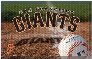 Fan Mats MLB Giants Scraper Ball or Camo Mats