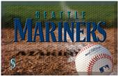 Fan Mats MLB Mariners Scraper Ball or Camo Mats