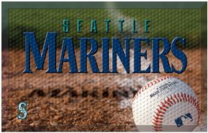 Fan Mats MLB Mariners Scraper Ball or Camo Mats