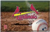 Fan Mats MLB Cardinals Scraper Ball or Camo Mats
