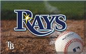 Fan Mats MLB Rays Scraper Ball or Camo Mats