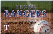 Fan Mats MLB Rangers Scraper Ball or Camo Mats