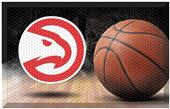 Fan Mats NBA Hawks Scraper Ball Mat