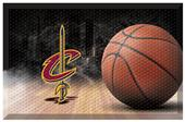Fan Mats NBA Cavaliers Scraper Ball Mat