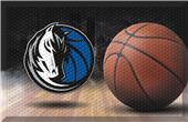Fan Mats NBA Mavericks Scraper Ball Mat
