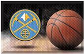 Fan Mats NBA Nuggets Scraper Ball Mat