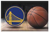 Fan Mats NBA Warriors Scraper Ball Mat