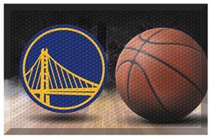 Fan Mats NBA Warriors Scraper Ball Mat
