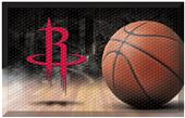 Fan Mats NBA Rockets Scraper Ball Mat