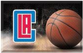 Fan Mats NBA Clippers Scraper Ball Mat