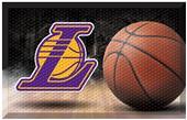 Fan Mats NBA Lakers Scraper Ball Mat