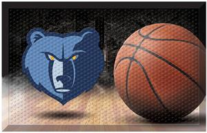 Fan Mats NBA Grizzlies Scraper Ball Mat