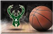 Fan Mats NBA Bucks Scraper Ball Mat