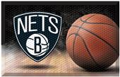 Fan Mats NBA Nets Scraper Ball Mat