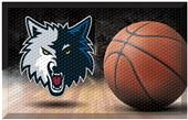 Fan Mats NBA Timberwolves Scraper Ball Mat