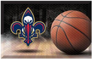 Fan Mats NBA Pelicans Scraper Ball Mat