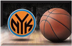 Fan Mats NBA Knicks Scraper Ball Mat