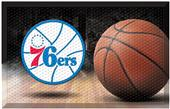 Fan Mats NBA 76ers Scraper Ball Mat