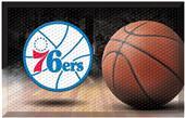 Fan Mats NBA 76ers Scraper Ball Mat