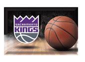 Fan Mats NBA Kings Scraper Ball Mat