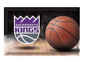 Fan Mats NBA Kings Scraper Ball Mat