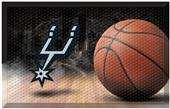 Fan Mats NBA Spurs Scraper Ball Mat