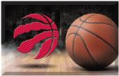 Fan Mats NBA Raptors Scraper Ball Mat