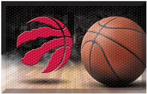 Fan Mats NBA Raptors Scraper Ball Mat