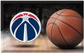 Fan Mats NBA Wizards Scraper Ball Mat