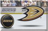 Fan Mats NHL Ducks Scraper Puck or Camo Mats