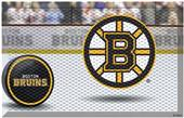 Fan Mats NHL Bruins Scraper Puck or Camo Mats